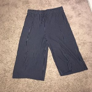 Anthropologie culotte cropped pants